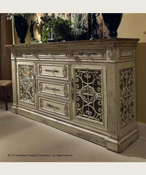 Habersham Furniture Monaco Sideboard/Curio 23 1226