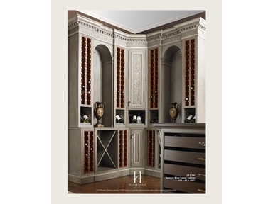 Habersham Furniture 23 2700 Dining Room Sonoma Wine Corner