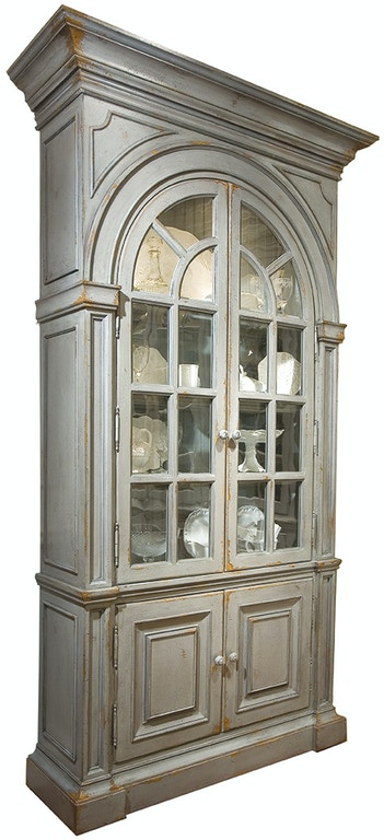 Habersham furniture 23 8141 living room moseley display case for Habersham cabinets cost