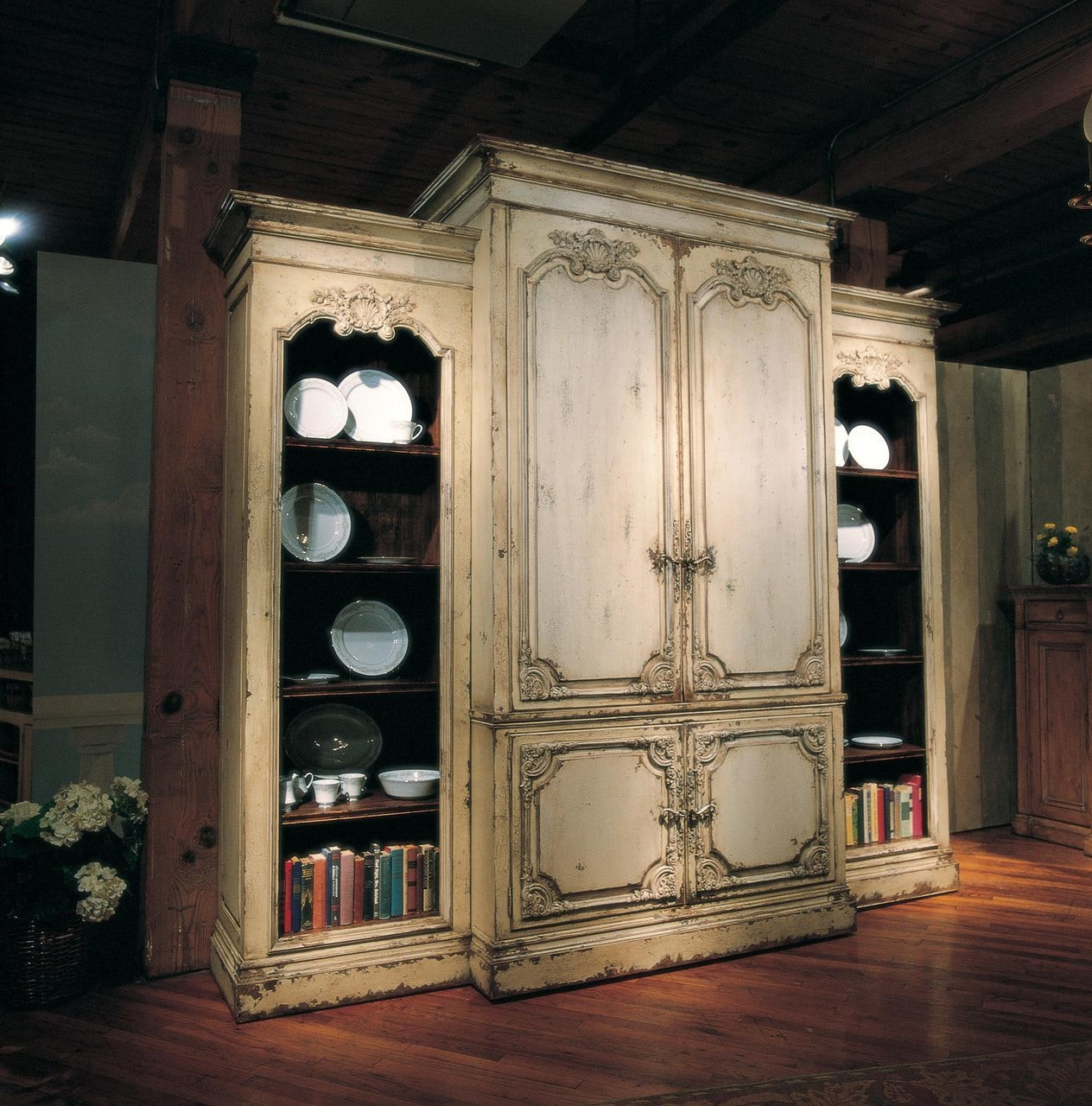 Habersham Furniture Bordeaux 3 Piece Home Entertainment