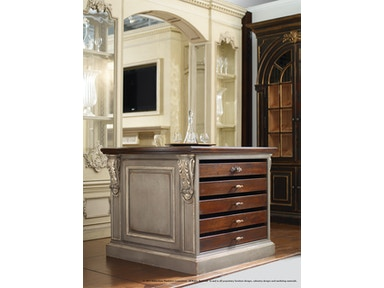 Habersham Furniture Napoli Wine Island 37-305X