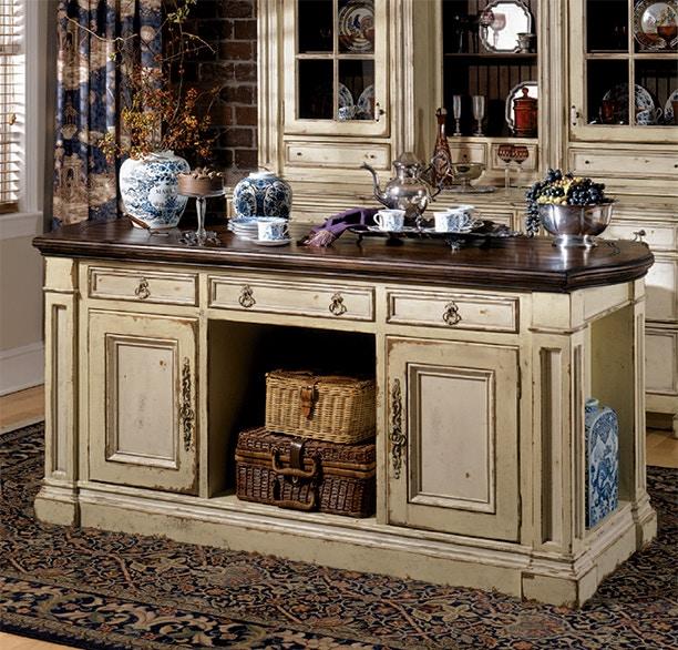 Habersham Cabinets Kitchen: Habersham Furniture 37-3140 Hampshire Kitchen Island