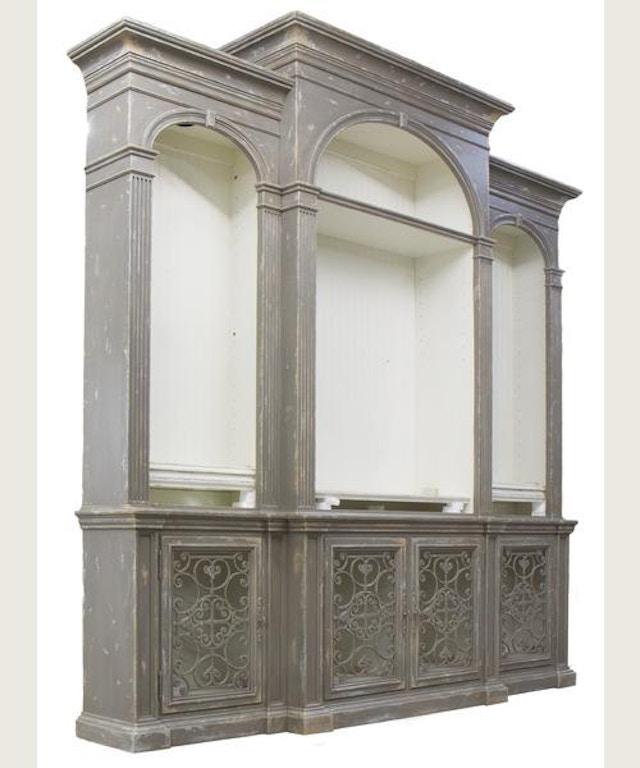 Habersham furniture 64 2398 home entertainment biltmore for Habersham cabinets cost