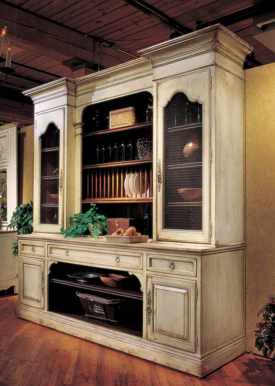 Habersham Furniture French Cupboard   9 68 4257
