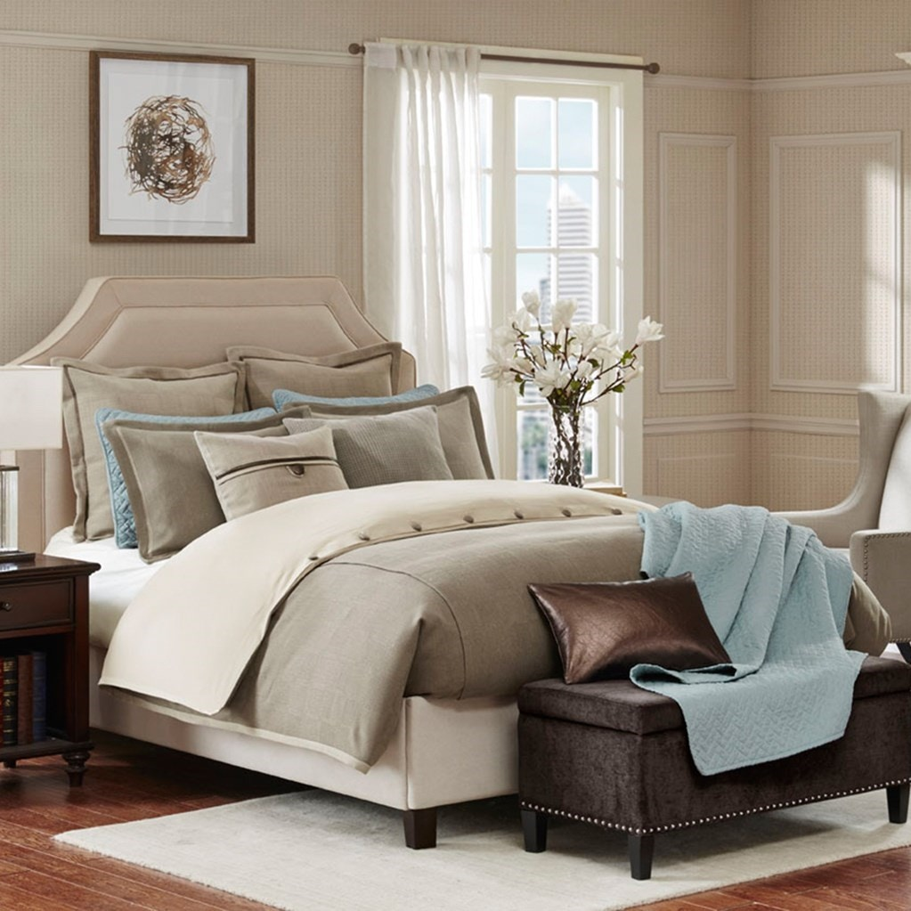 hampton hill bedding bedroom kingston comforter set fb10-1021