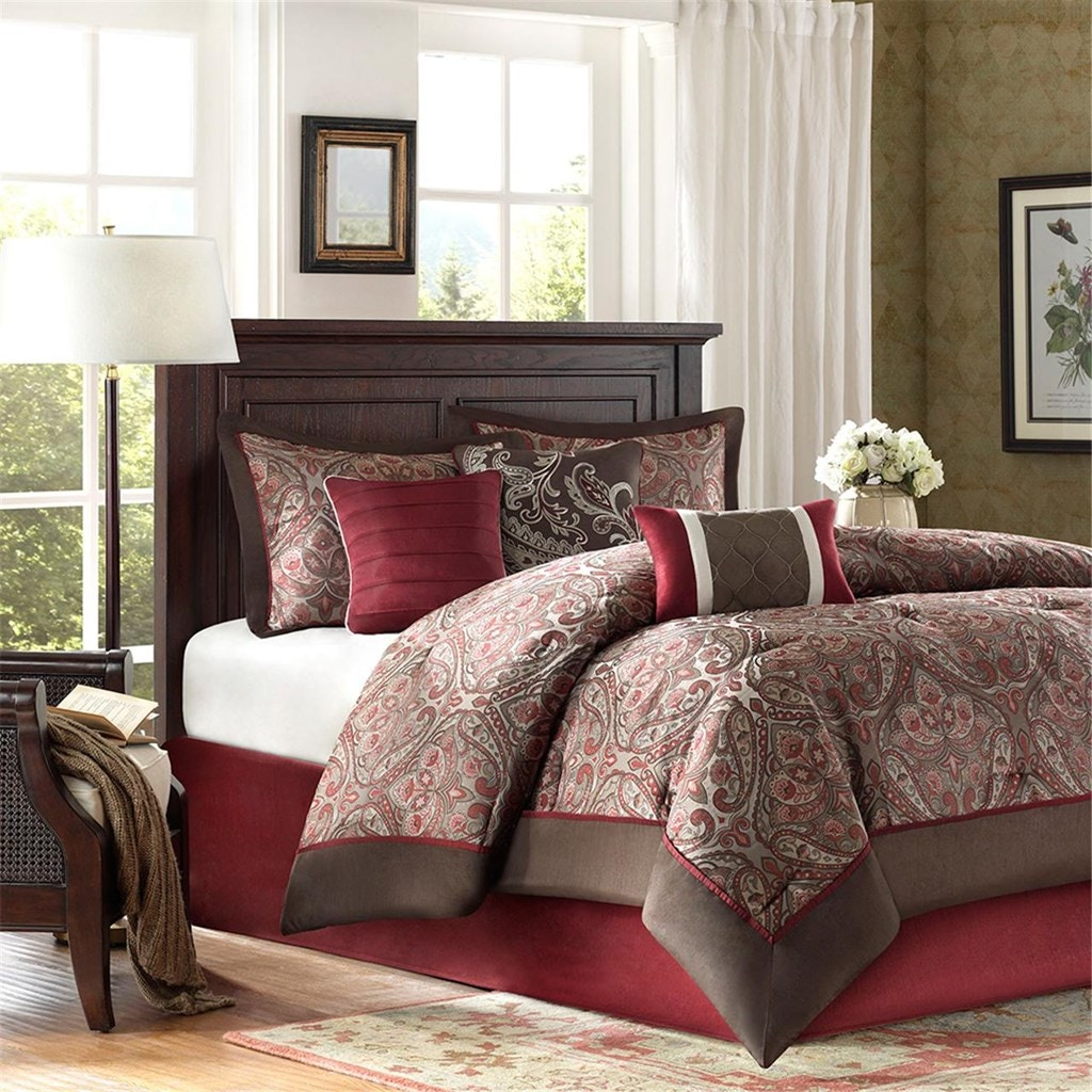 hampton hill bedding bedroom talbot 7 piece comforter set mp10-381