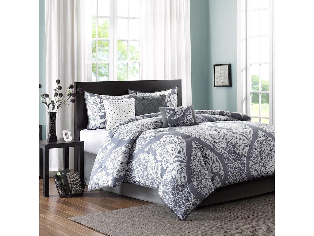 Hampton hill bedding mp10 501 bedroom vienna 7 piece for House of hampton bedding