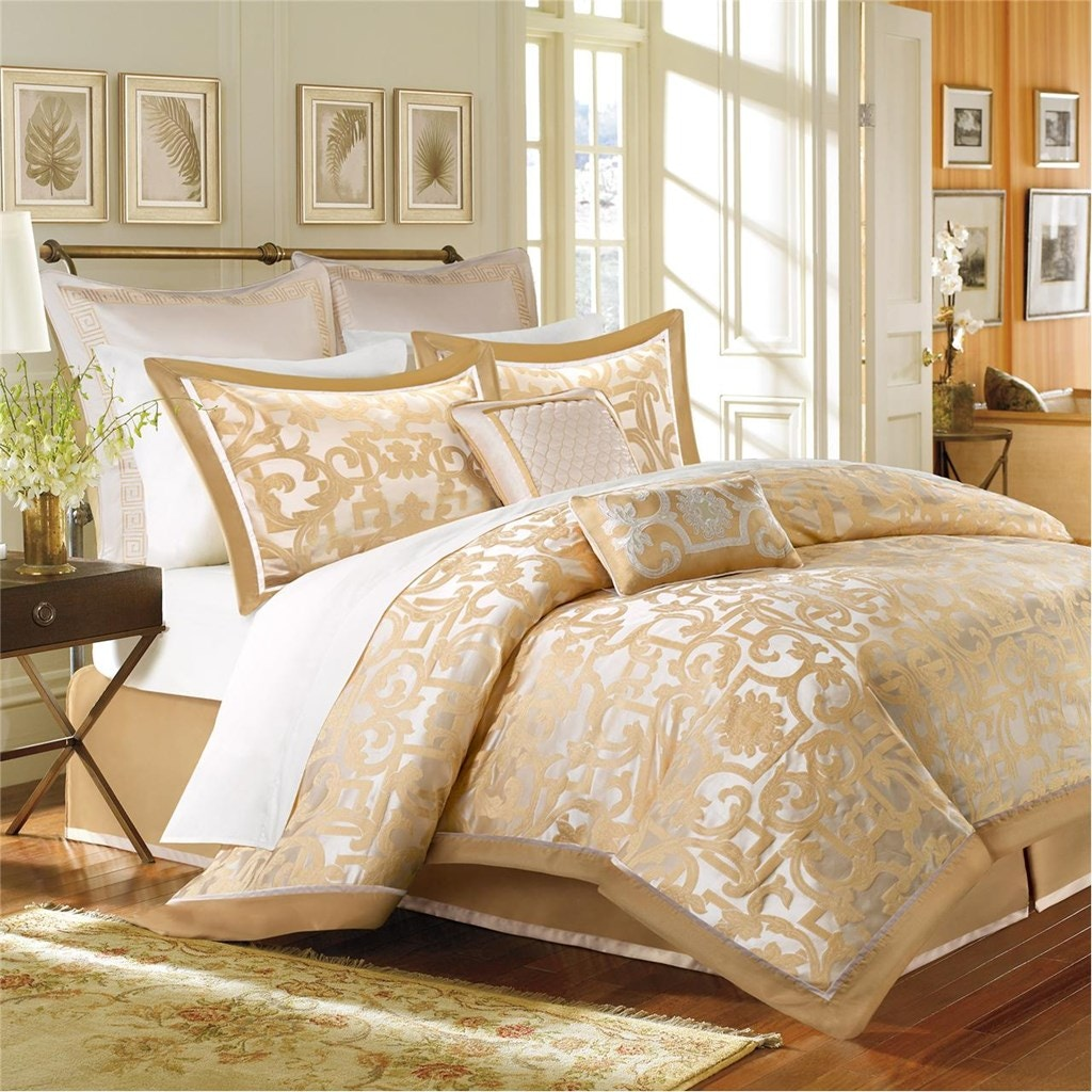 hampton hill bedding bedroom urban chic comforter set fb10-1031
