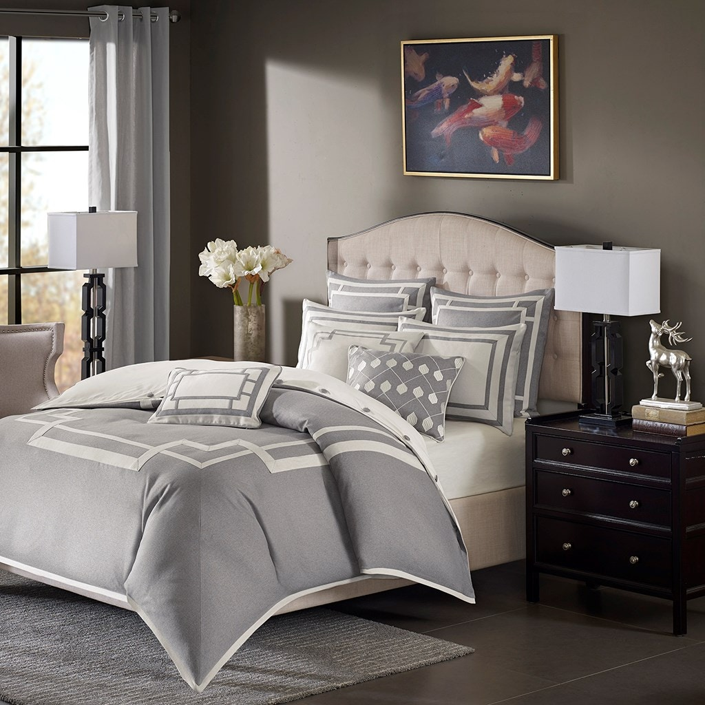 hampton hill bedding bedroom savoy comforter set mps10-203