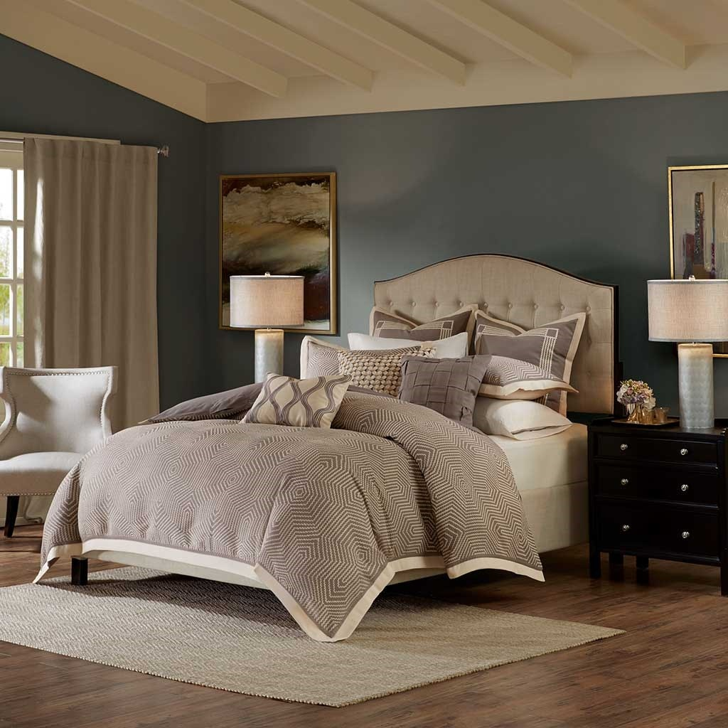 Hampton Hill Bedding Shades of Grey Comforter