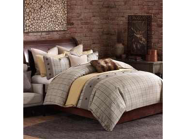 Hampton Hill Bedding Shadow Mountain Comforter Set with Bed Skirt - Queen FB10-1037