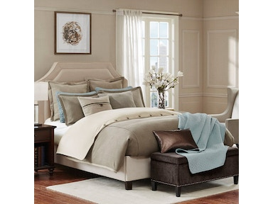 Hampton Hill Bedding Kingston Comforter Set with Bed Skirt - Queen FB10-1040