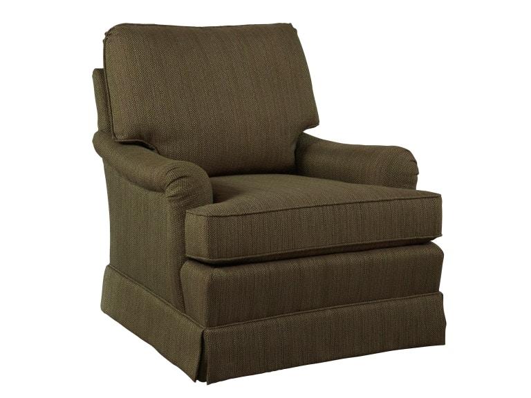 Hekman Furniture Wm: Cz Skirted Chairs Roland Chair 1056 Hekman