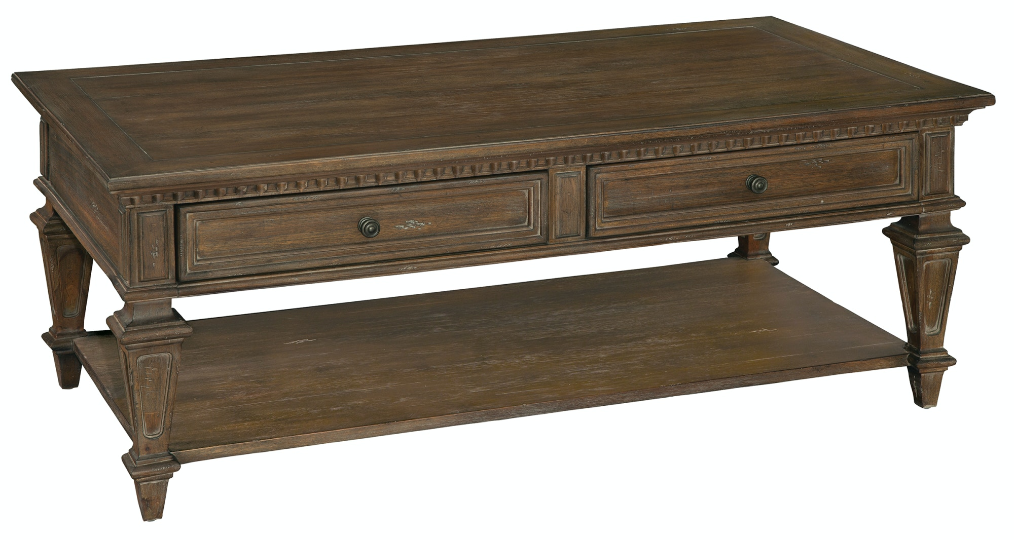 Hekman Furniture Turtle Creek Occasional Rec Drawer Coffee Table 1 9200  Hekman