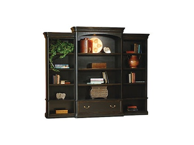 Hekman Furniture Louis Phillippe Executive Bookcase Center 7-9144