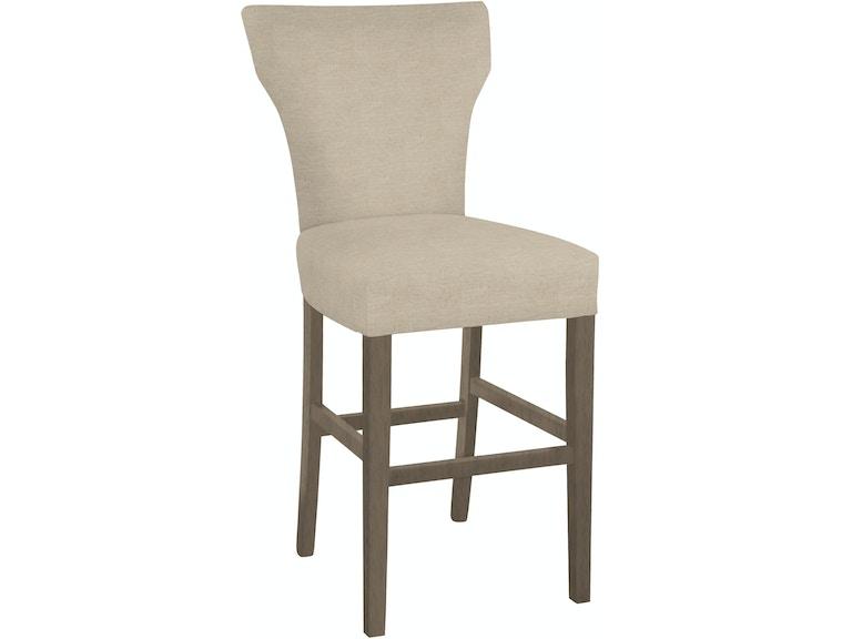 Hekman Furniture Wm Cz Dining Select Dbc Bar Stool Aged Grey Finish 7407G