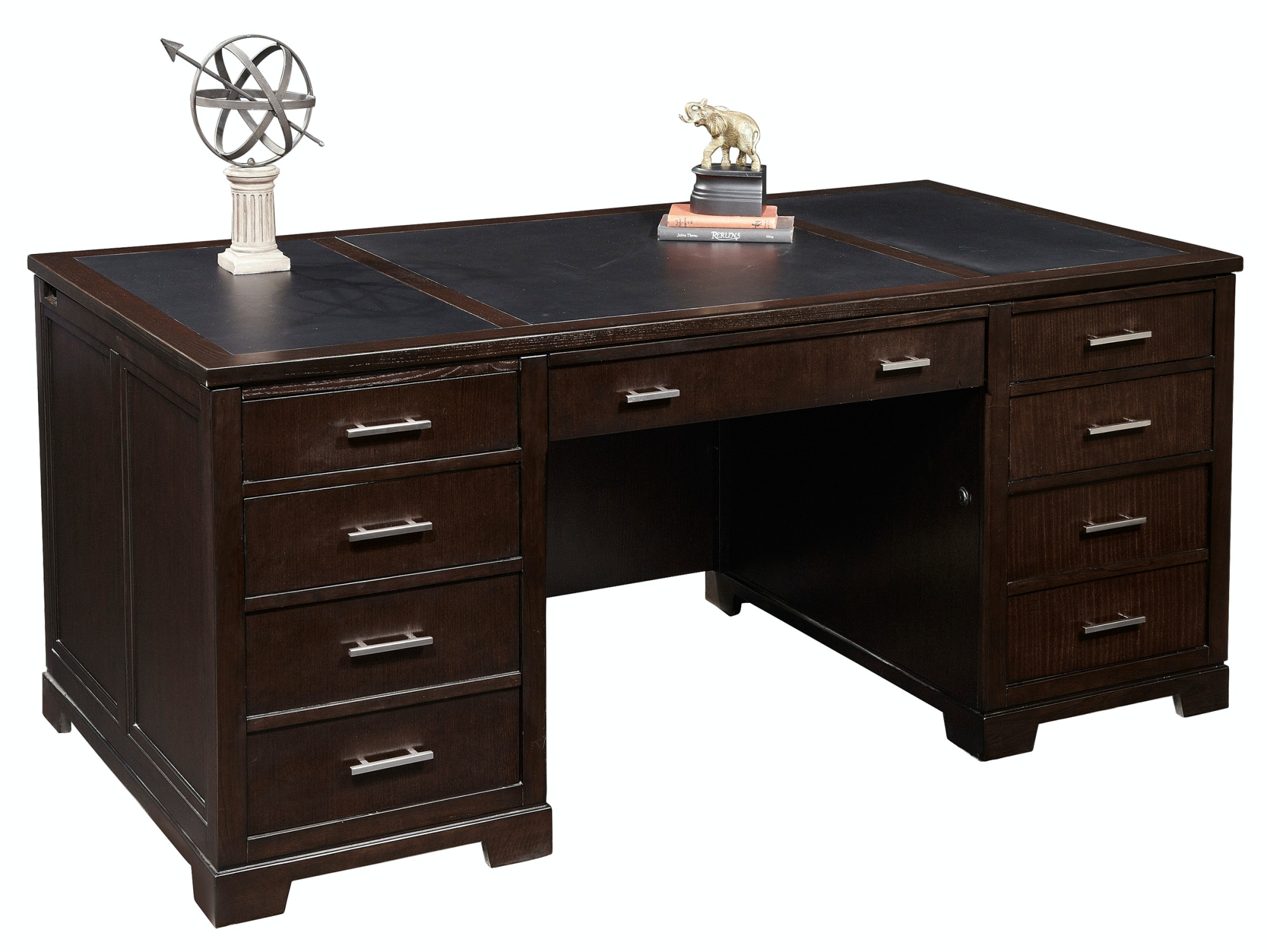 Great Hekman Furniture Home Office Executive Desk Executive Desk Hekman Furniture  7 9180