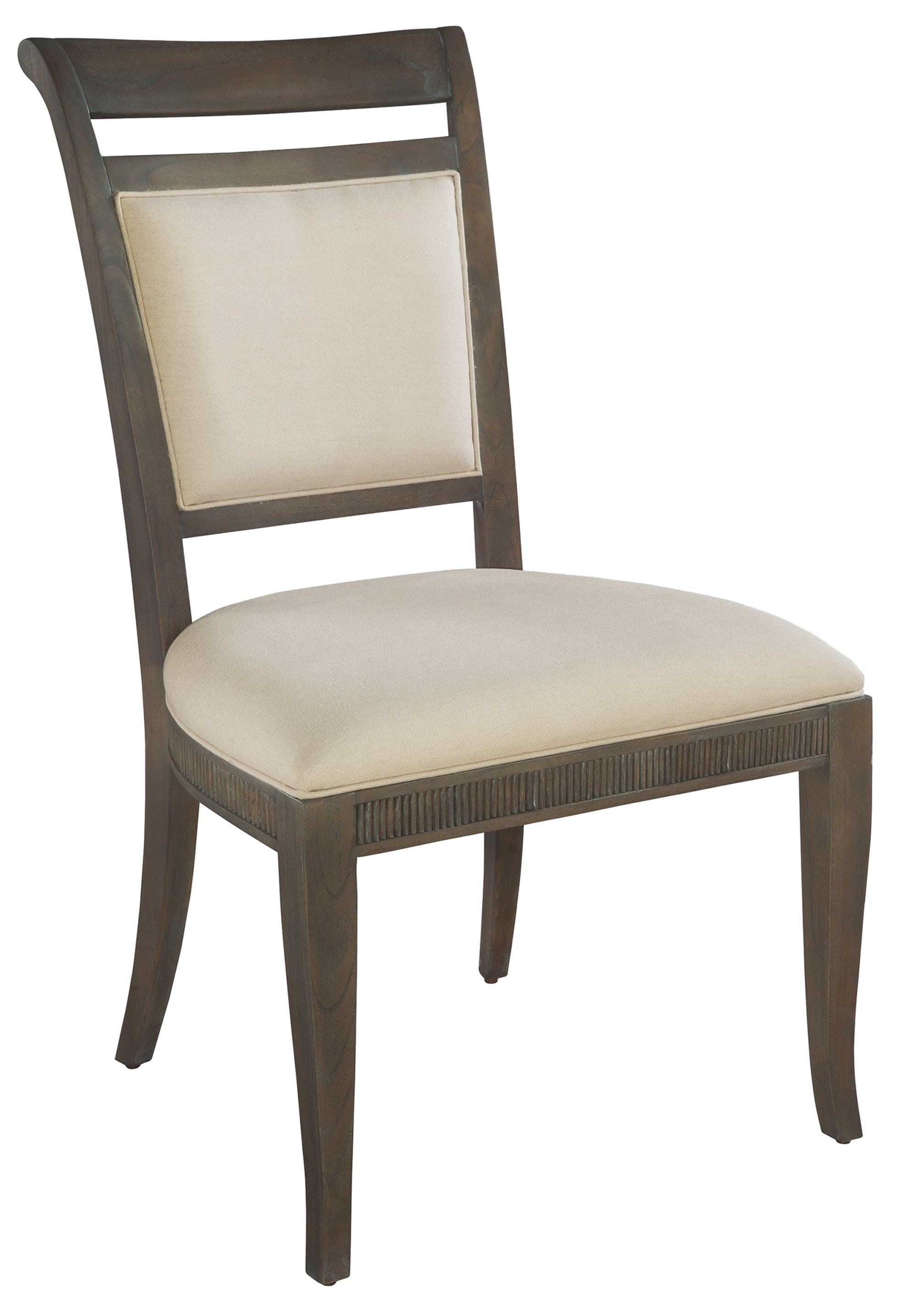 Ordinaire Hekman Furniture 952222SU Hekman Urban Retreat Dining Upholstered Side Chair