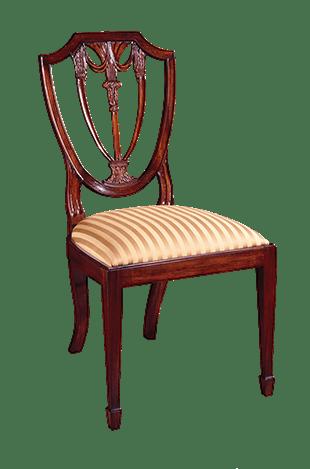 Bon Henkel Harris Furniture Shield Back Side Chair Henkel 104S