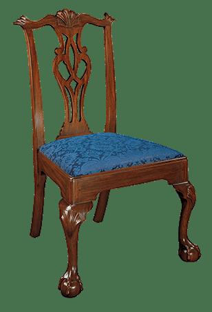 Henkel Harris Furniture Chippendale Arm Chair Henkel 112A