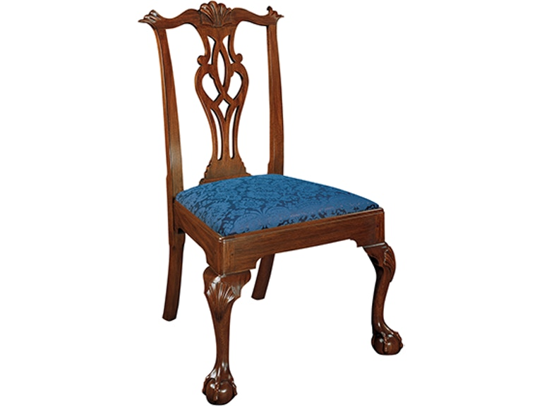 112s henkel harris furniture chippendale side chair