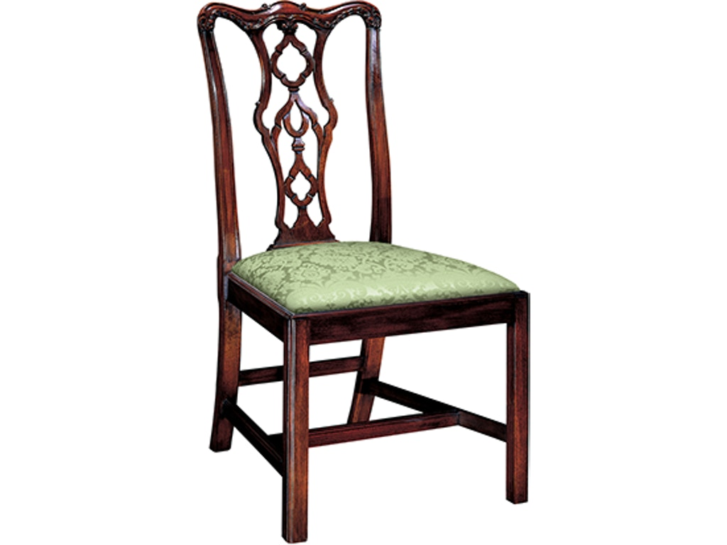 Henkel Harris Furniture Dining Room Chippendale Side Chair 115s Goods Home Furnishings North