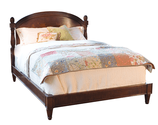 Henkel Harris Furniture Euro Bed 197EB. Upholstery Is Handmade And Some  Slight Variances In Dimensions Are Normal. Wood Finishes And Fabric Colors  May Vary.