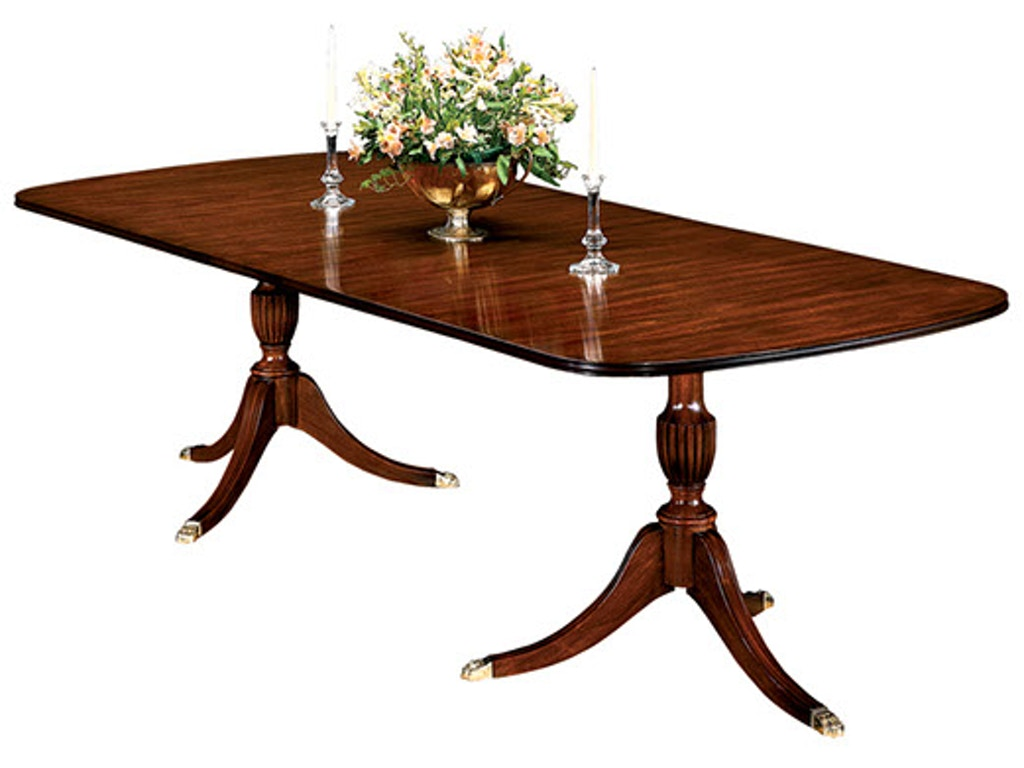 Henkel Harris Dining Table Henkel Harris Furniture Dining Room Double Pedestal Dining Table 2208