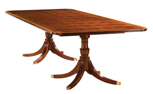 Superieur Henkel Harris Furniture Rectangular Dining Table 2296A