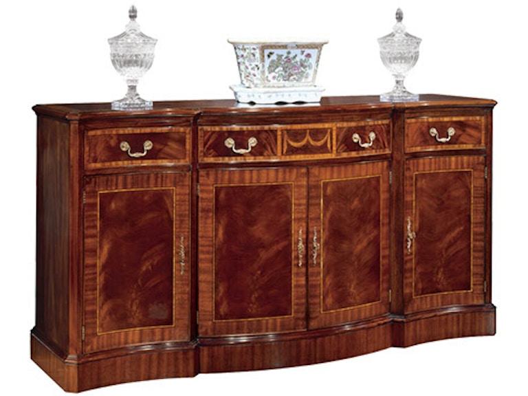 2369 henkel harris furniture breakfront credenza