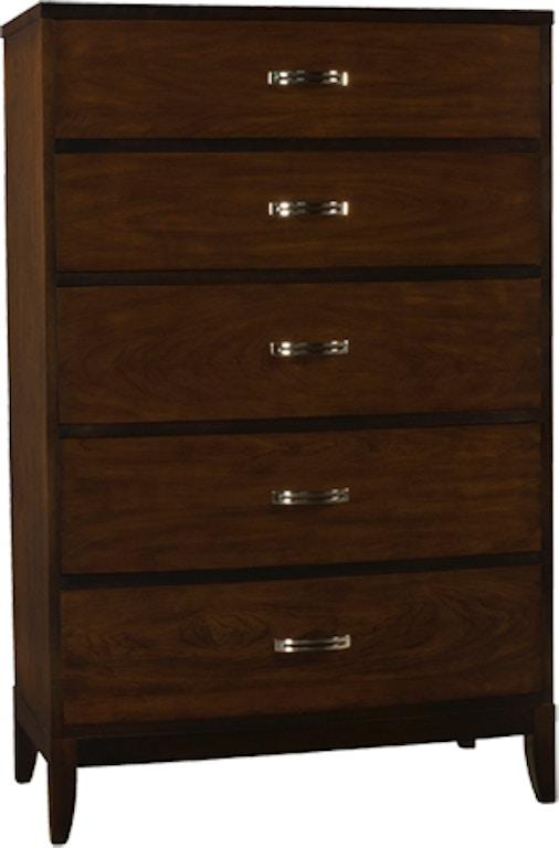 Henkel Harris Furniture 430 Bedroom Bowfront Chest