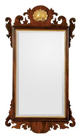 Henkel Harris Furniture Chippendale Mirror H 5