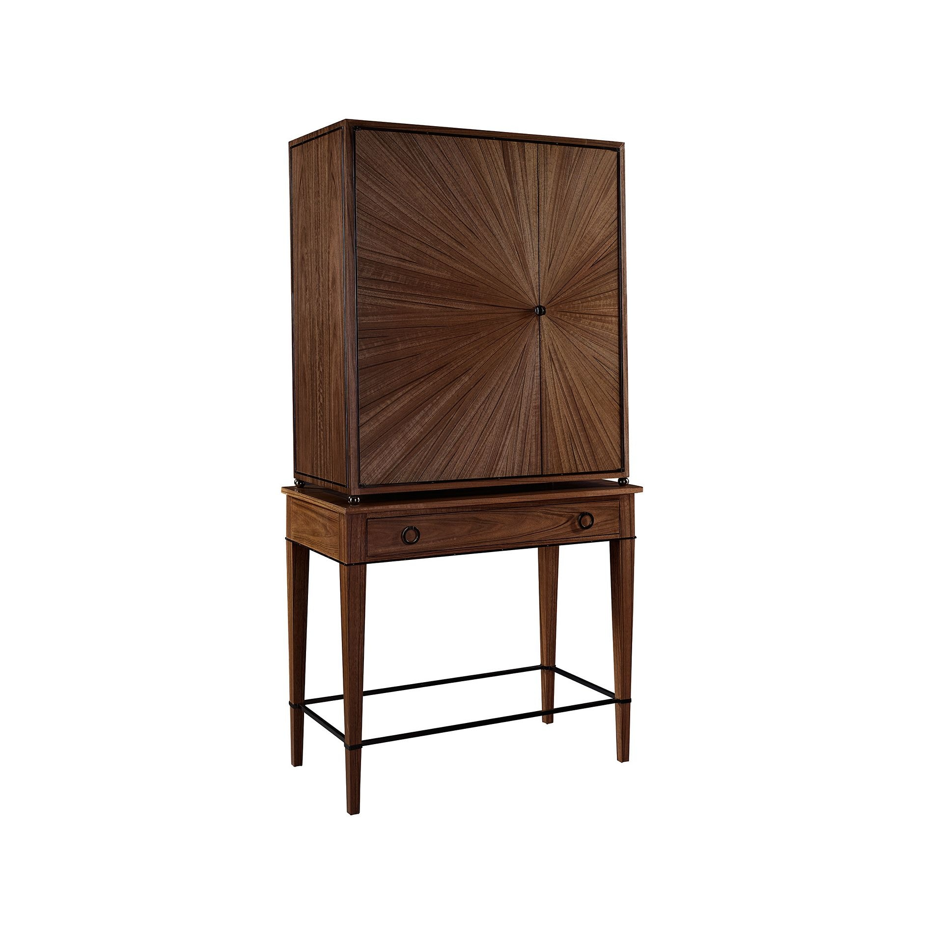 Ordinaire Henredon Furniture 1945 Collection Ellington Circle Bar Cabinet Ba  2201 49 803B U0026 803D
