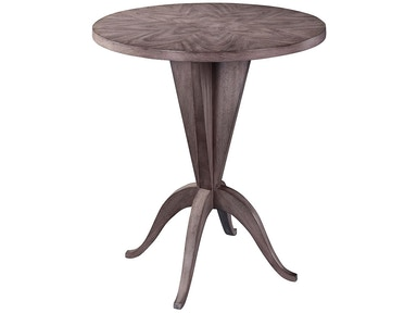 Henredon Furniture Dean Collection Sloane Round Lamp Table 2301-42-435