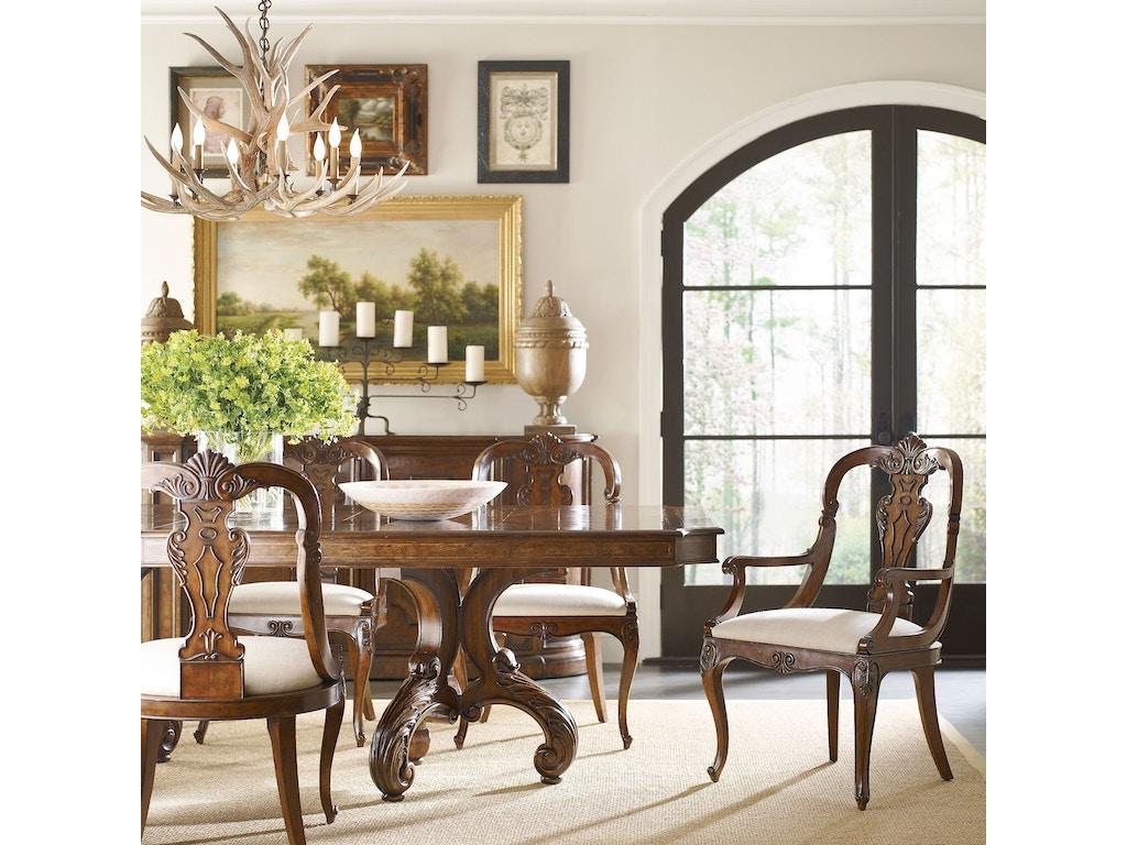 Henredon Furniture Villarosa Dining Table 2601 20B 20T