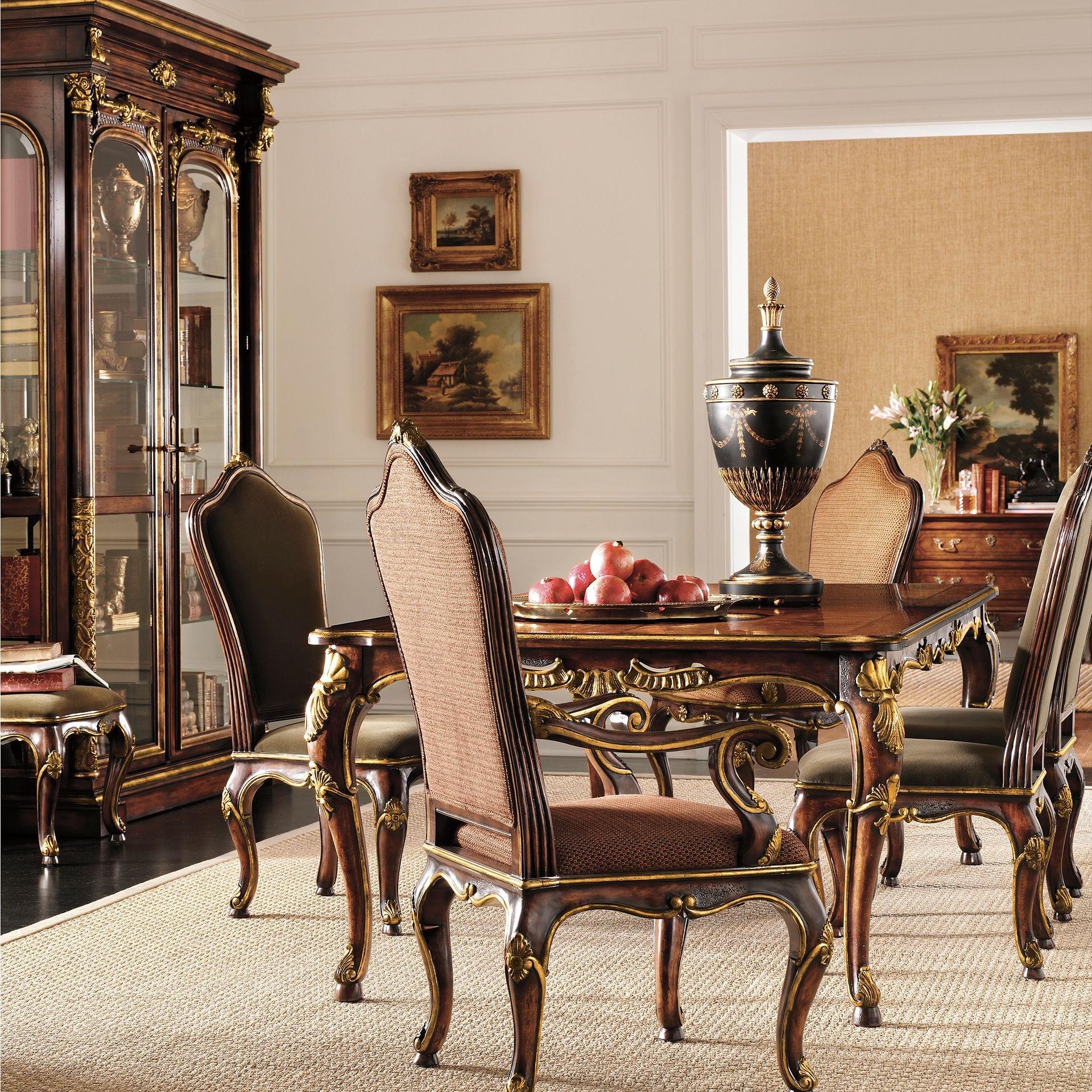Henredon Furniture Dining Room Arabesque Arm Chair 4501 27