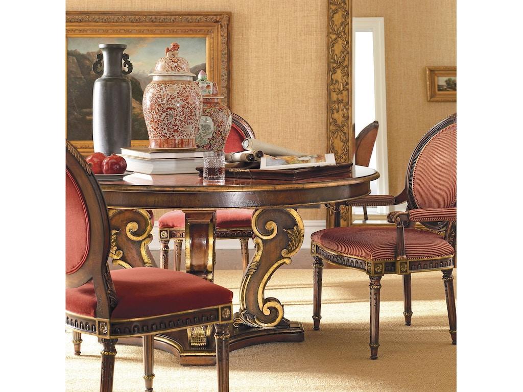 Henredon Furniture 4502-20B / 4502-20T Dining Room Arabesque ...
