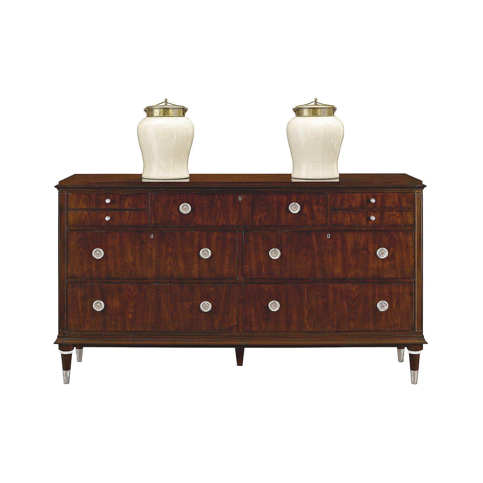 Perfect Henredon Furniture Scene Six Double Dresser 7900 01