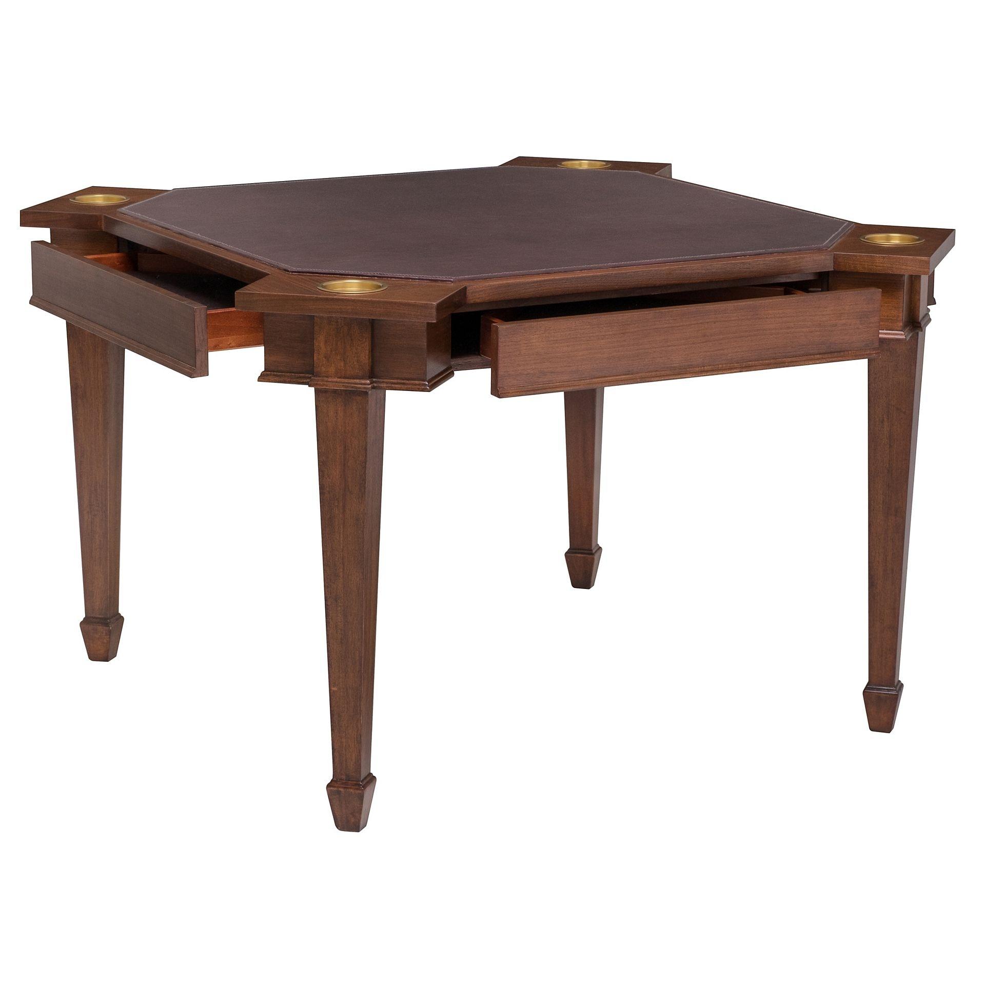 Henredon Furniture Jeffrey Bilhuber Delancey Square Game Table 8100 55 000