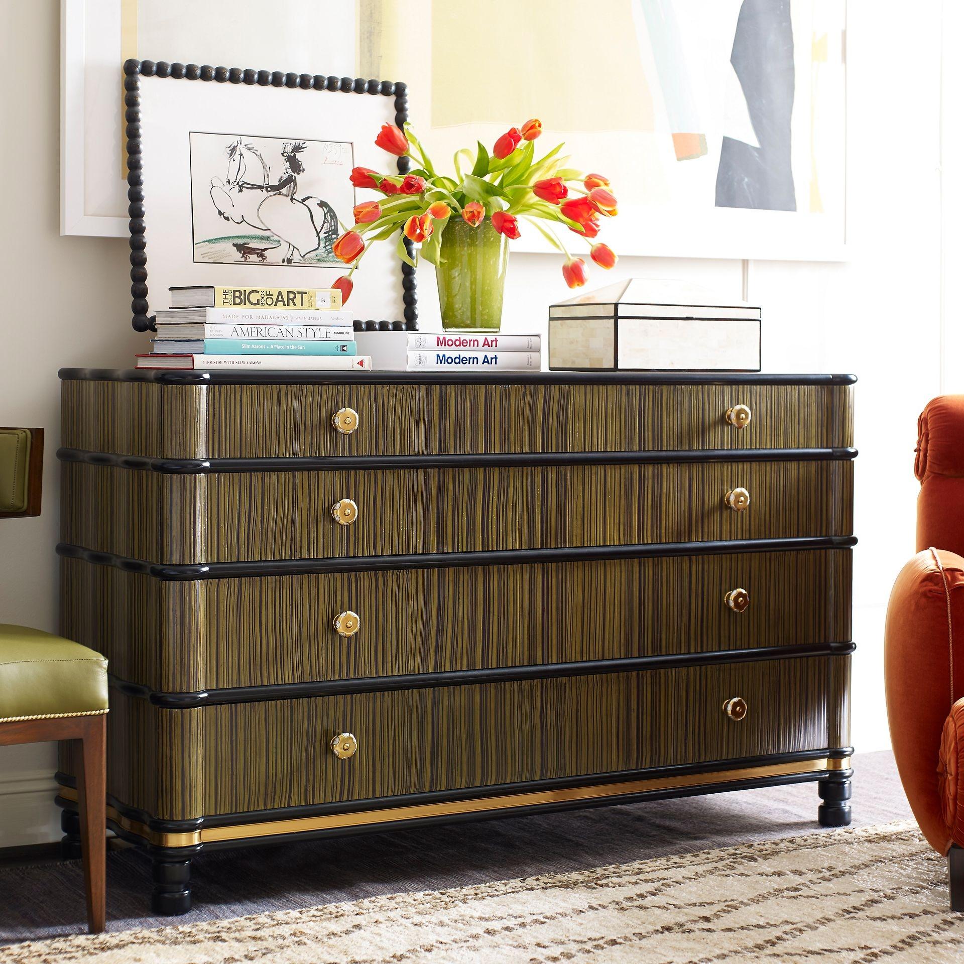 Henredon Furniture Jeffrey Bilhuber Prescott Dining Chair 8101 27 122