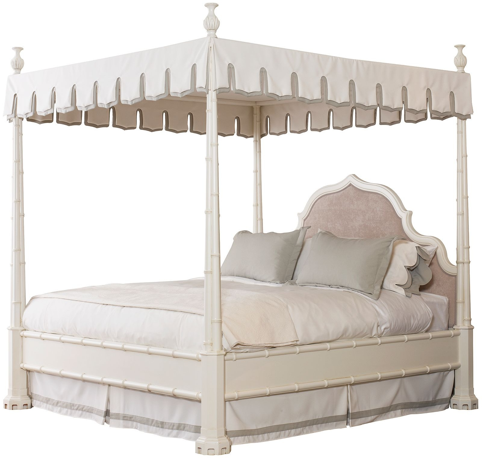henredon furniture celerie kemble for henredon maddock bed with custom upholstered headboard 66 - Celerie Kemble Furniture