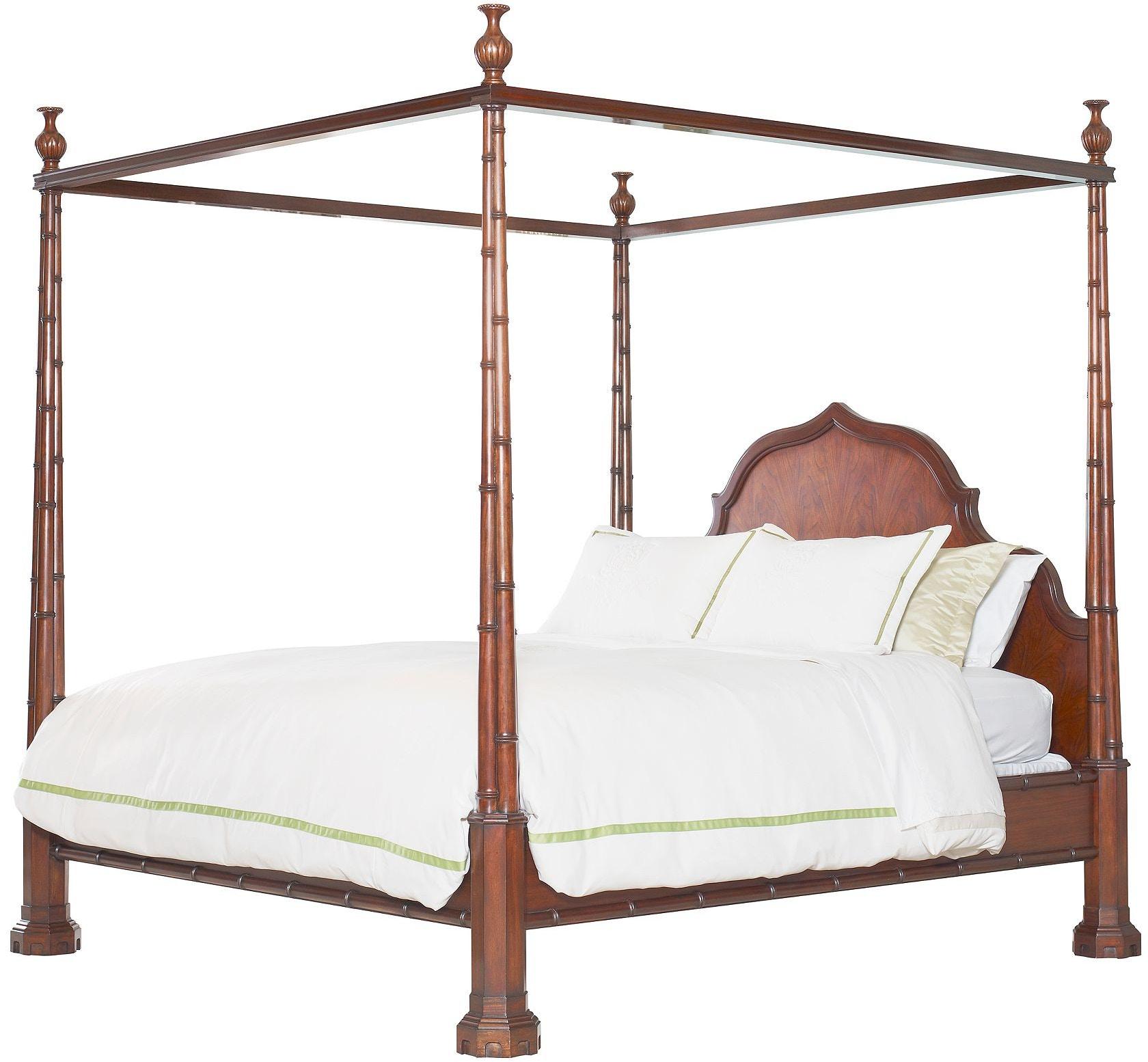 henredon furniture celerie kemble for henredon maddock bed 66 king 8200 - Celerie Kemble Furniture