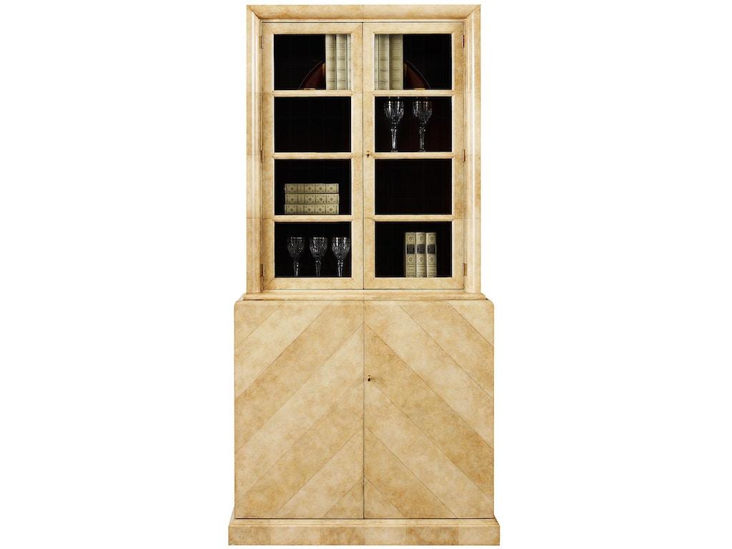 henredon furniture celerie kemble for henredon francis display cabinet 8200 49 - Celerie Kemble Furniture