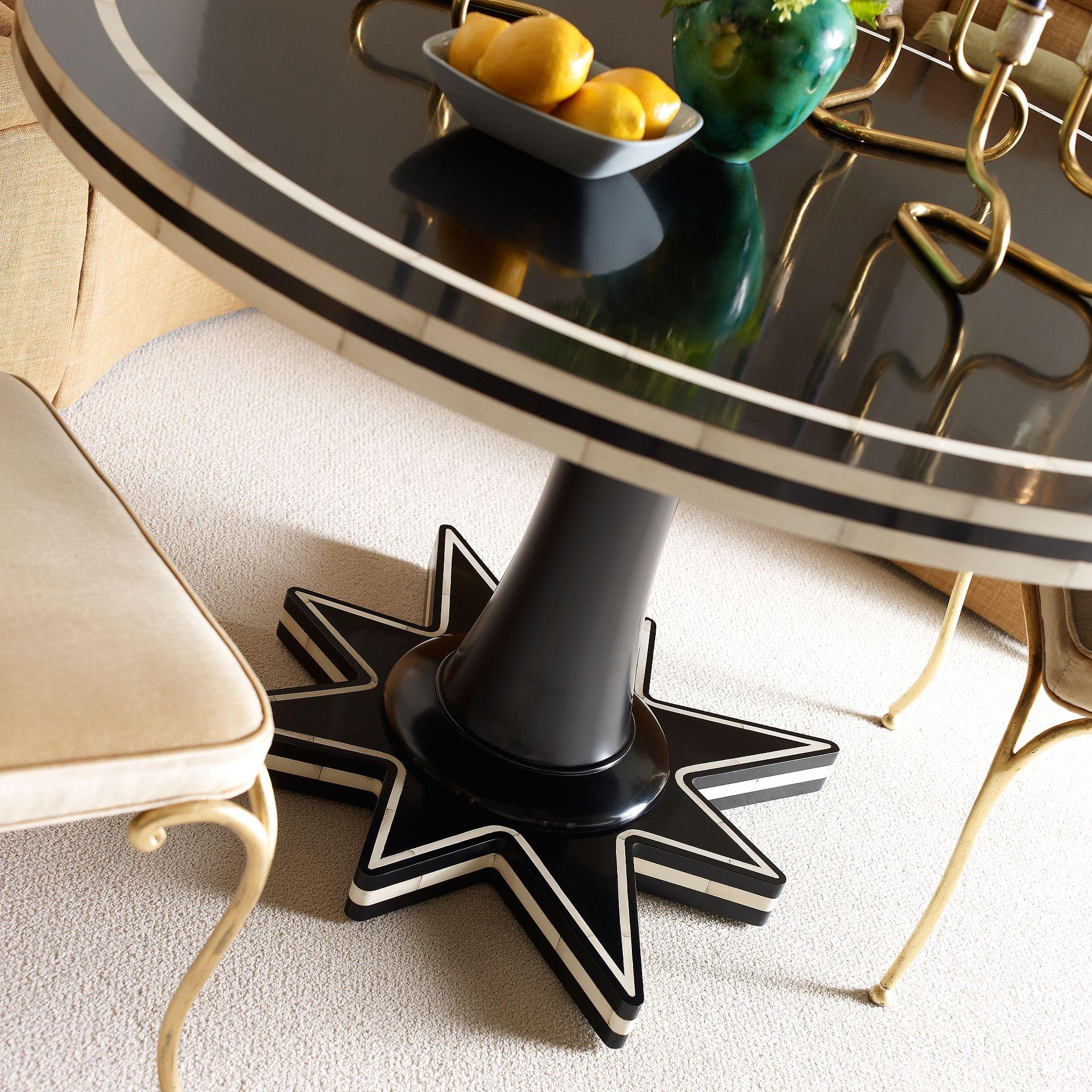 henredon furniture celerie kemble for henredon cosima dining table 8202 20 396 - Celerie Kemble Furniture