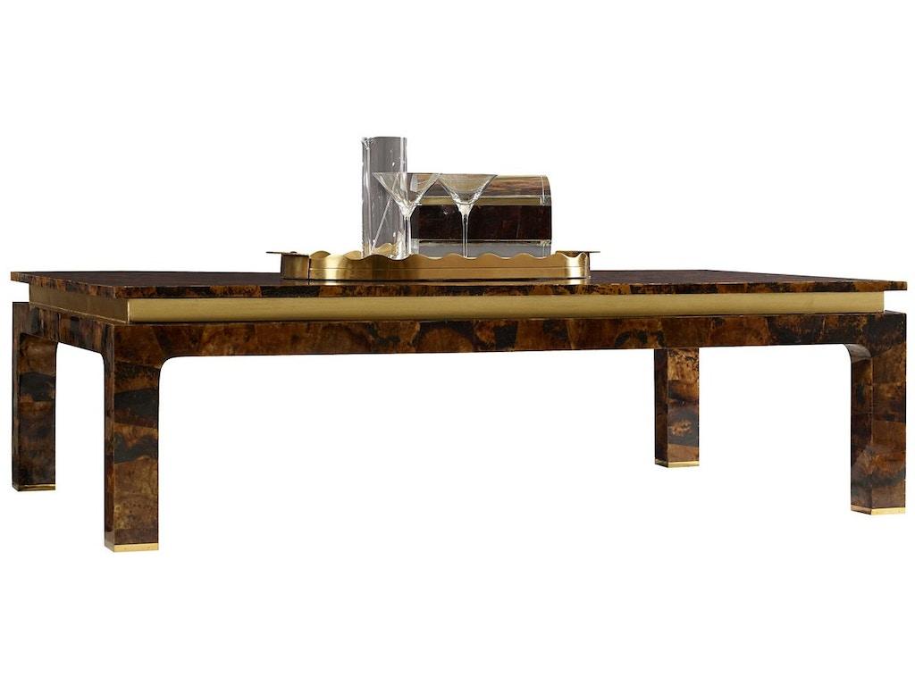 henredon furniture celerie kemble for henredon adler cocktail table 8206 40 000 - Celerie Kemble Furniture