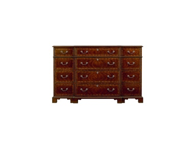 Henredon Furniture Oxford Classics Triple Dresser 9400-03