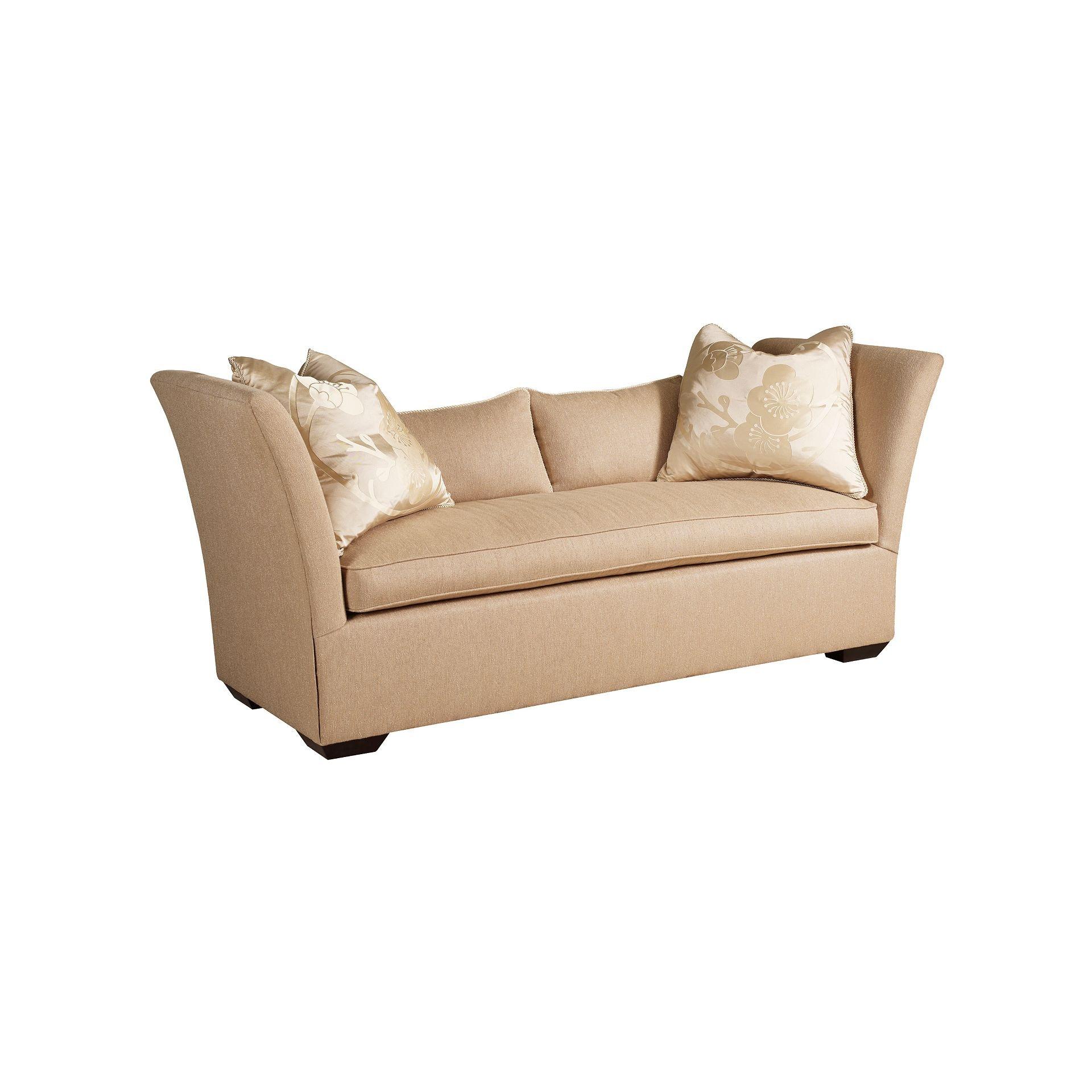 Henredon Furniture Henredon Upholstery Madeline Short Sofa H0764 B