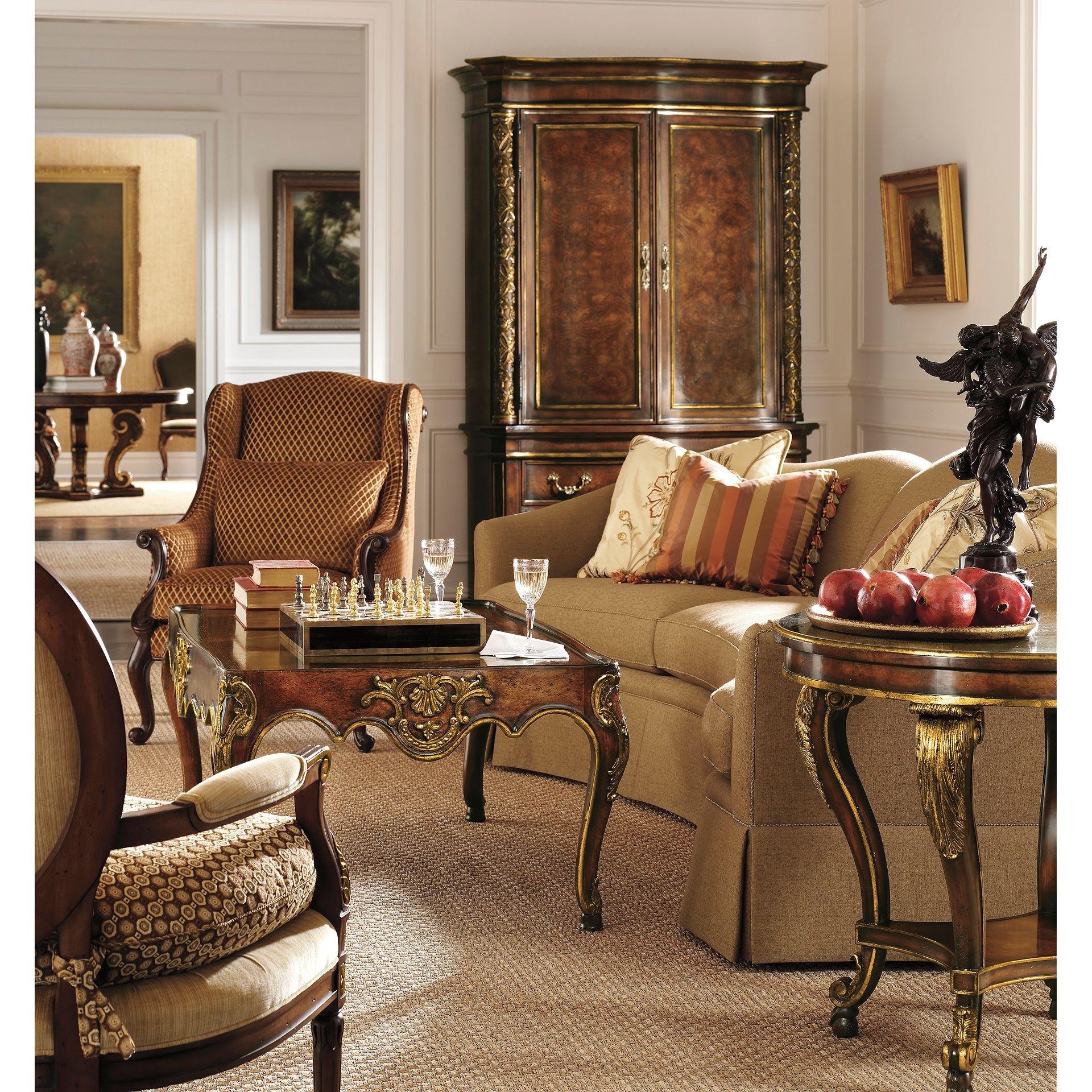 Henredon Furniture Henredon Upholstery Reflections Wedge Sofa H0814 W