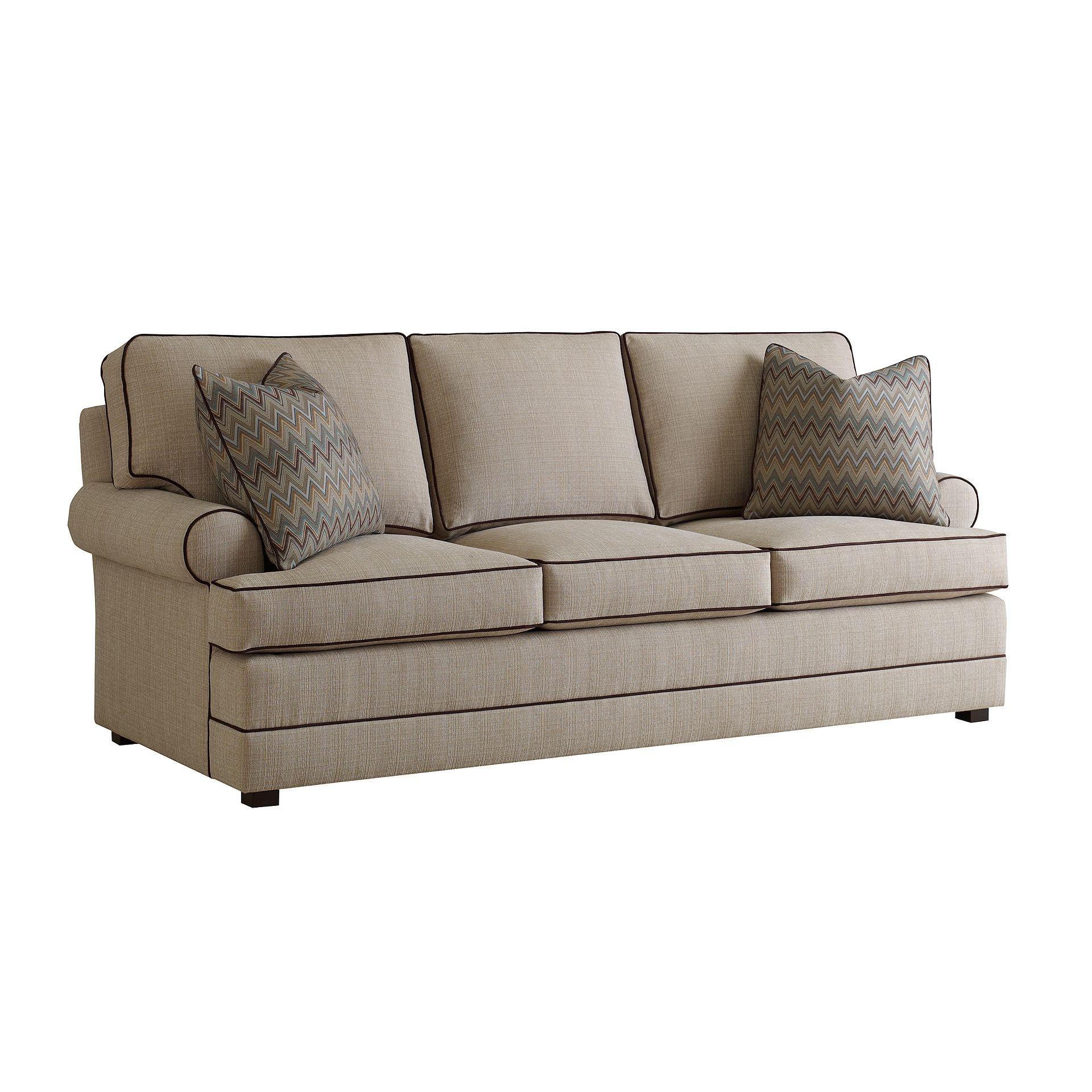 Henredon Furniture Fireside Custom Upholstery Fireside Sofa H1000 C
