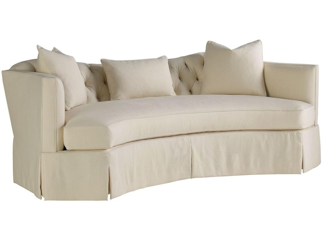henredon furniture celerie kemble for henredon serpentine short sofa h1301 b - Celerie Kemble Furniture
